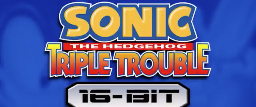 Sonic Triple Trouble is Getting a 16-Bit Makeover in a Fan-made Remake