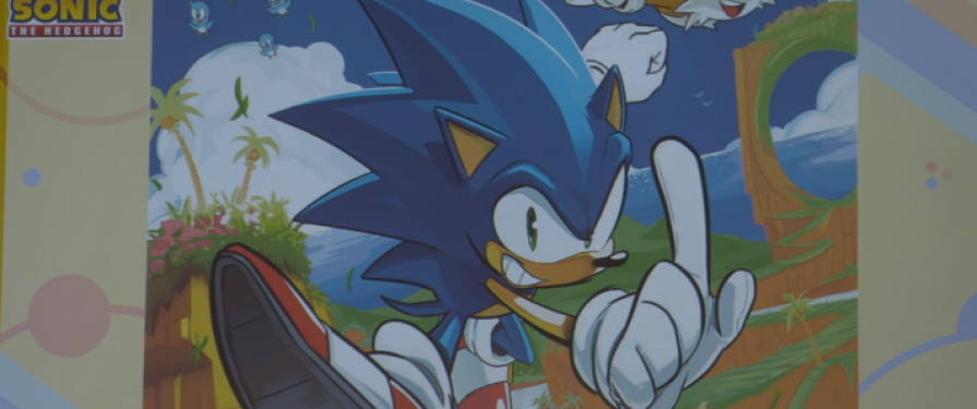Colour Preview Of Tyson Hesse Sonic #1 Cover Released!