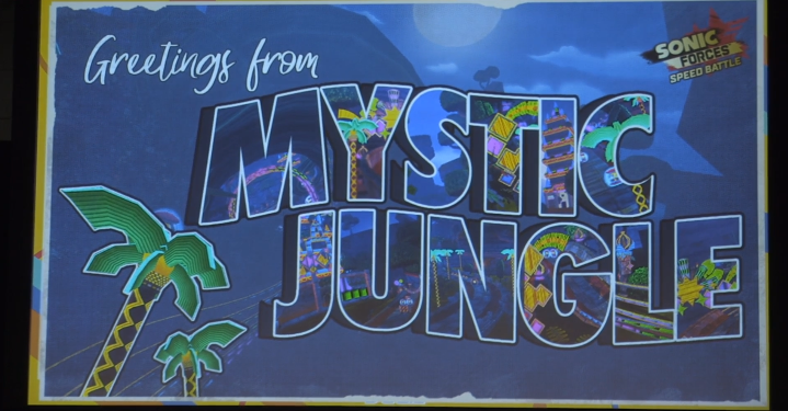 New environment, Mystic Jungle, coming to Sonic Forces Speed Battle