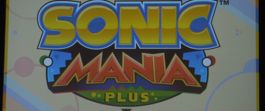 'Sonic Mania Plus' Physical Game Release Announced, Comes With Two New Characters