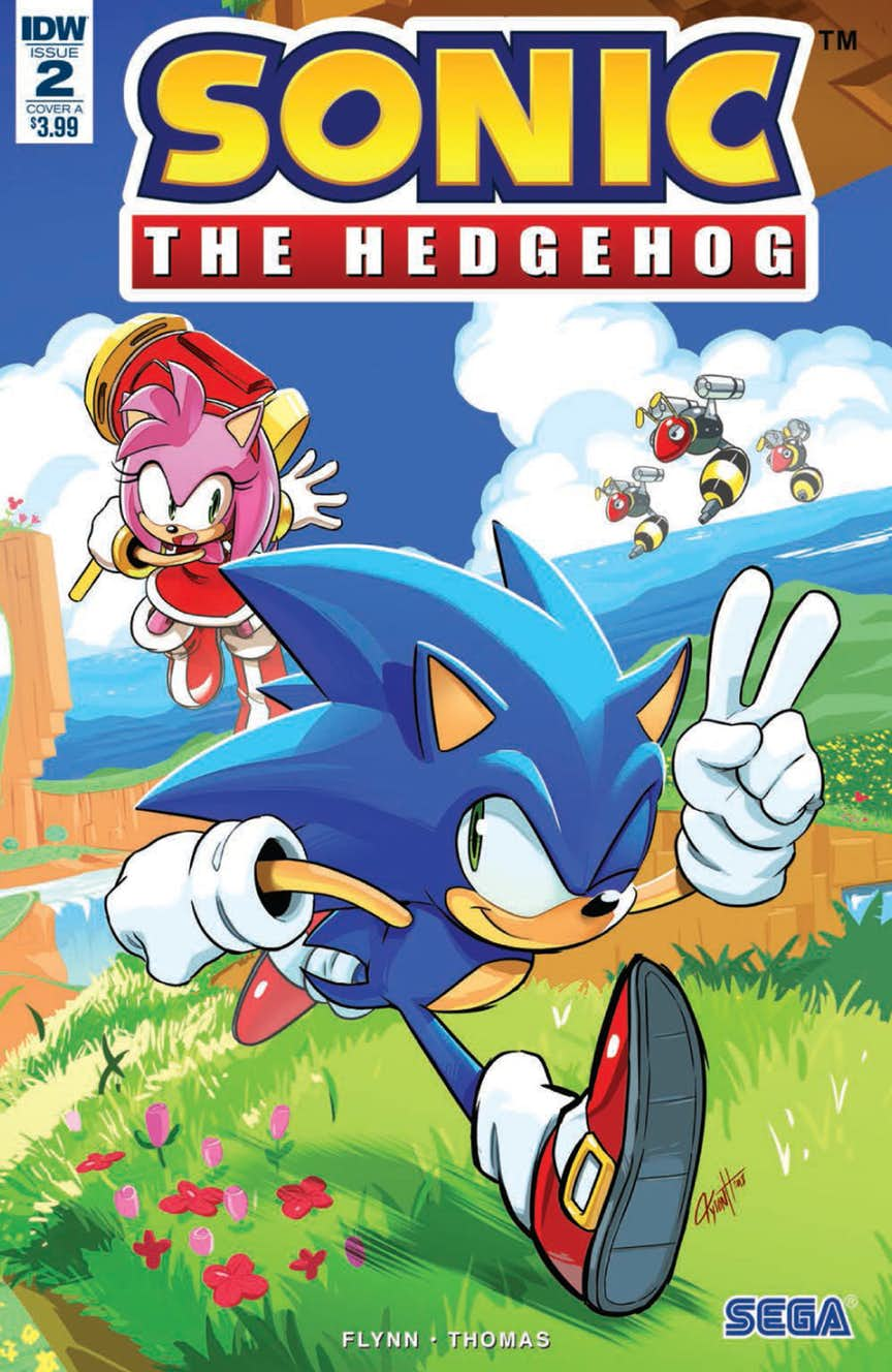 Comic Preview Idw Sonic The Hedgehog 2 The Sonic Stadium