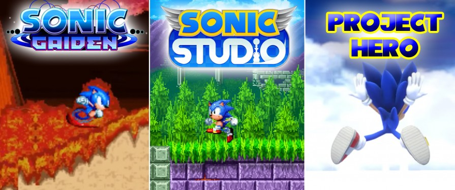 A Trio of Fan Works to Look Out For: Sonic Gaiden, Sonic Studio & Project Hero