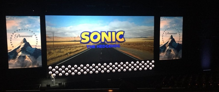 Paramount Pictures Reveal Sonic Movie Logos