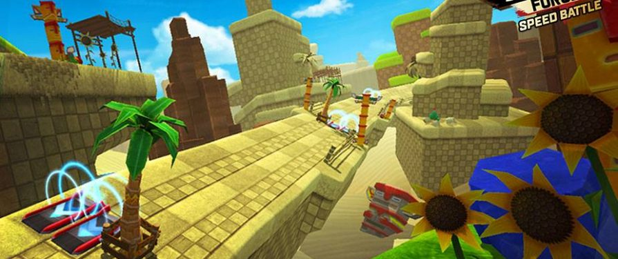 Latest Sonic Forces: Speed Battle Update Adds Sandy Hills Track