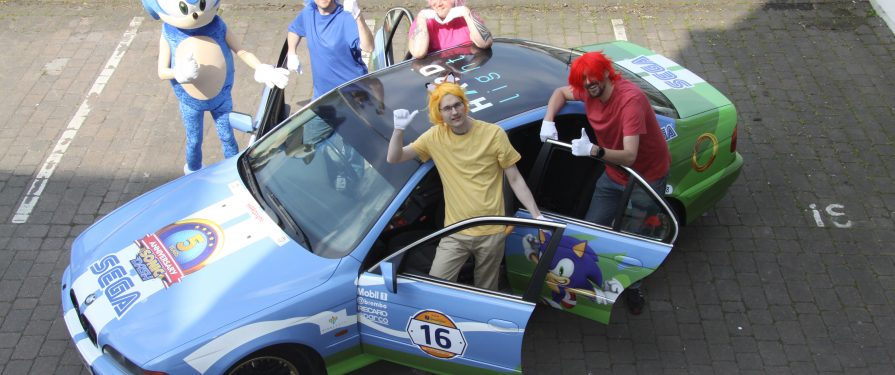 Sonic Dash Team Takes Part In Twin Town Challenge Charity Race