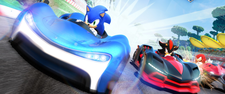 "Team Sonic Racing: ""Who Are You Mysterious Man Who Floats On High…"""