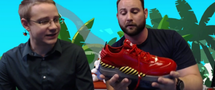 SONIC X PUMA: Eggman-Themed Shoes Announced