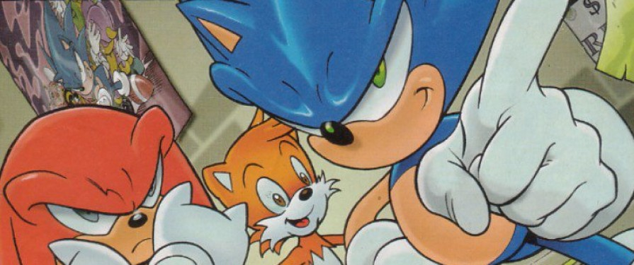 Sonic The Comic Celebrates 25th Anniversary