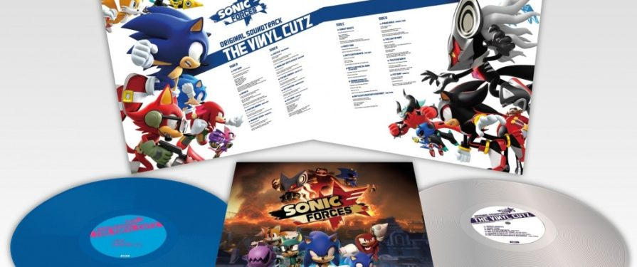 Wayô Records Announces new Sonic Forces vinyl