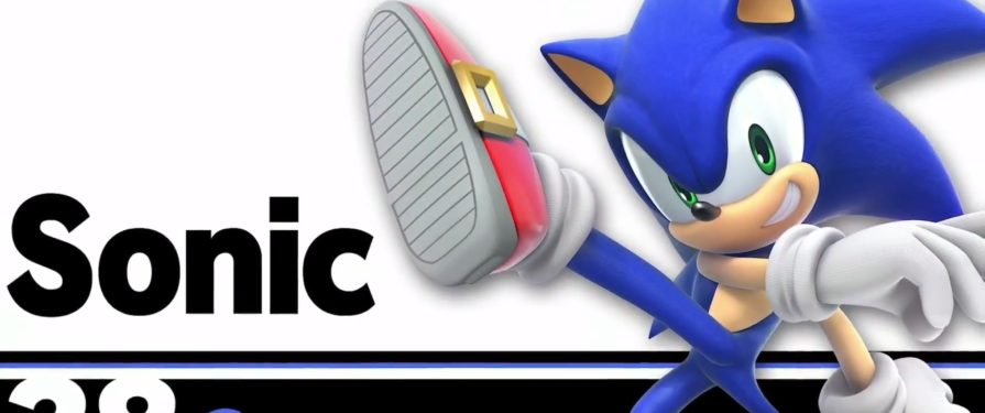 Sonic confirmed for another round in Smash Bros Switch UPDATE: With Knuckles!