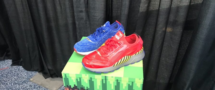 Puma Shows off its shoes in a fancy display at E3
