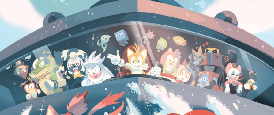Comic Previews: IDW Sonic the Hedgehog #9 Solicitation Revealed
