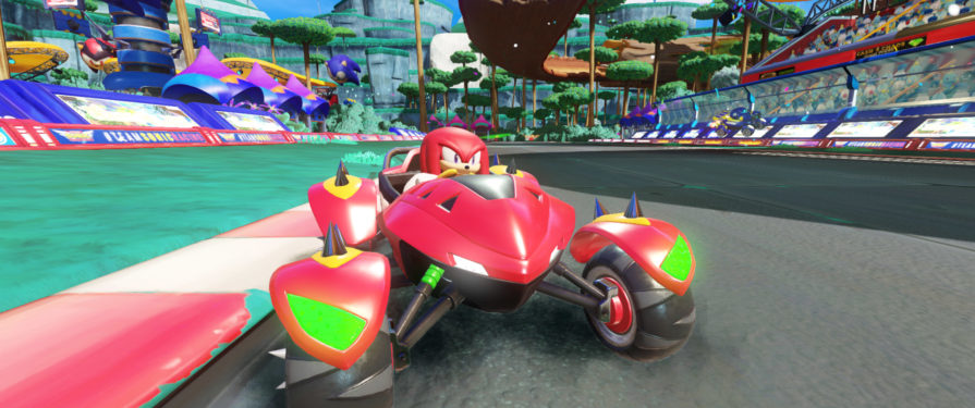Team Sonic Racing @EGX 2018 Hands On Impressions