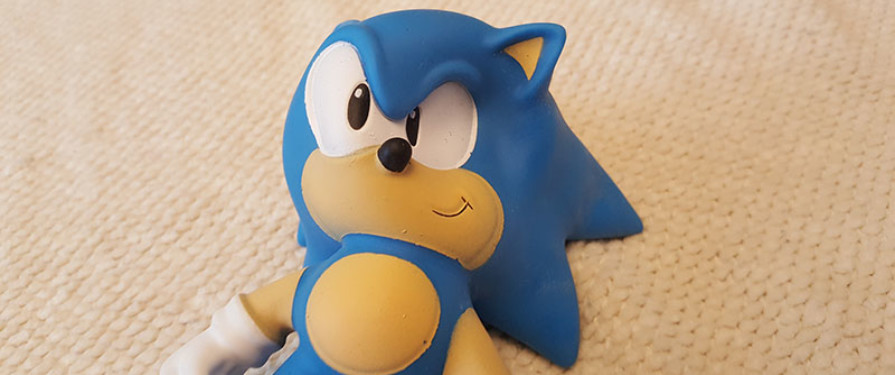 TSS Review: Sonic The Hedgehog Stretch Armstrong Toy