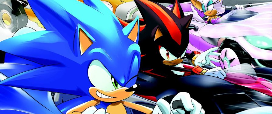 Team Sonic Racing comic Gets a Plus Deluxe Turbo Championship Edition Reprint