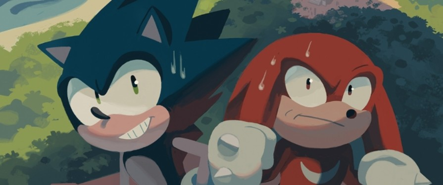 Comic Previews: Solicitations for IDW Sonic the Hedgehog #10 and Team Sonic Racing Revealed