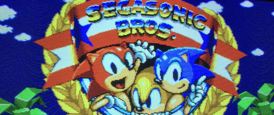 See A Playable Build of Cancelled Arcade Puzzler SEGASonic Bros in Action