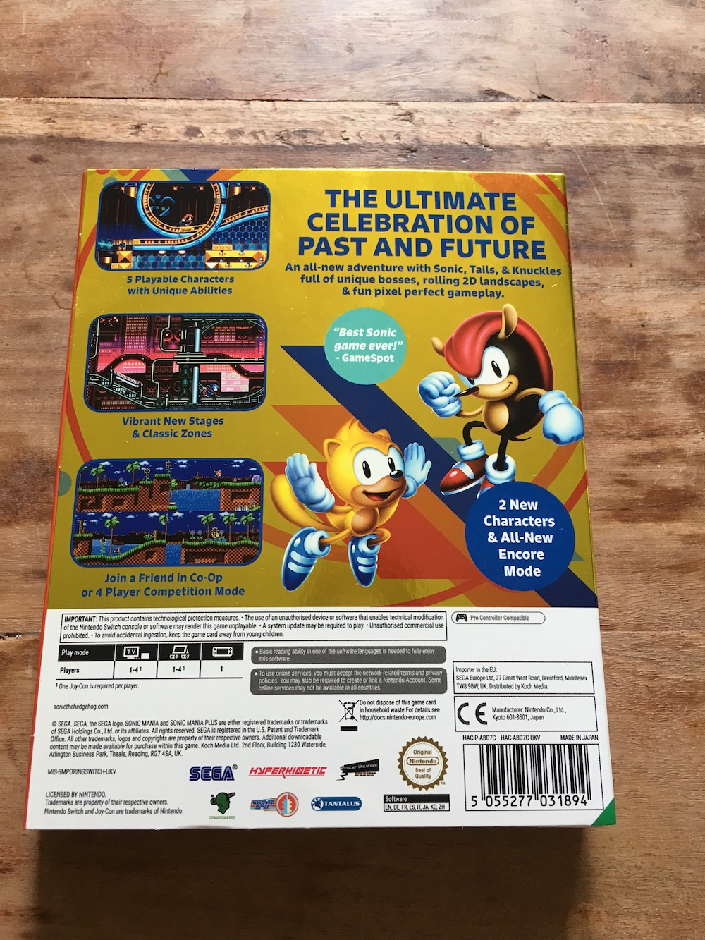 GALLERY: See the Sonic Mania Plus Special Edition, Up Close