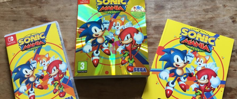 GALLERY: See the Sonic Mania Plus Special Edition, Up Close and Personal