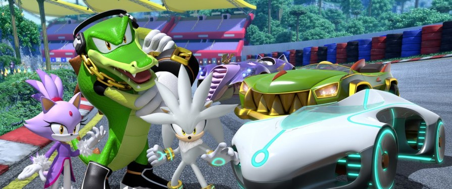 Silver, Blaze and Vector Are All Coming to Team Sonic Racing