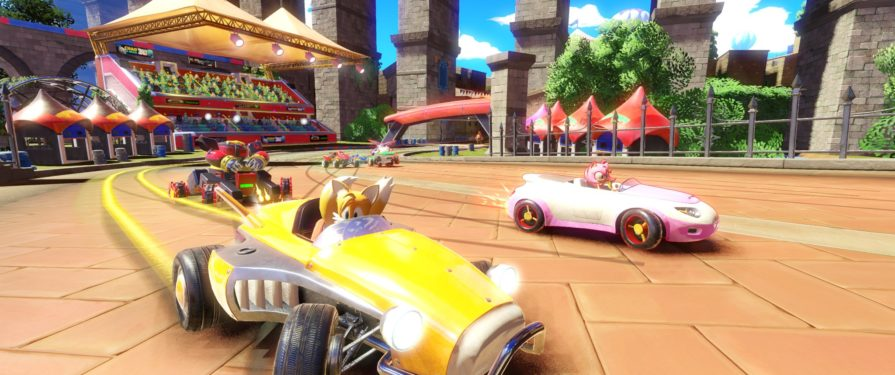 New 'Market Street' Track Revealed for Team Sonic Racing, Riffs Rooftop Run