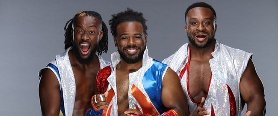 WWE Team The New Day Pay Homage to Sonic With Summerslam Gear