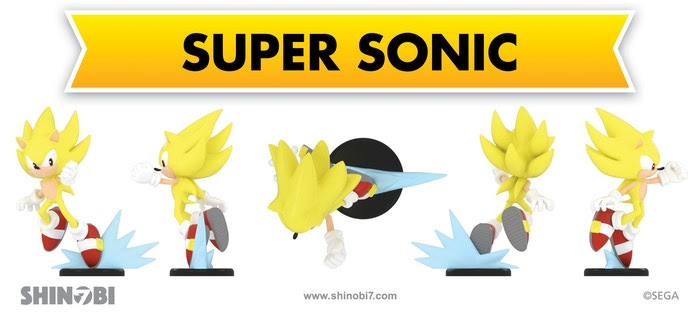 Sonic Kickstarter Board Game Delayed, Super Sonic Figure Remodeled