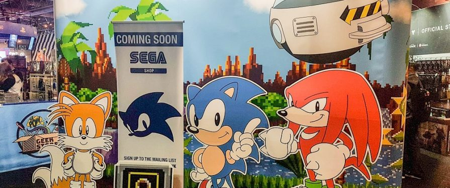 SEGA Shop For Europe Coming Soon