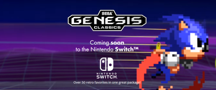 Sega Genesis Classics announced for Switch