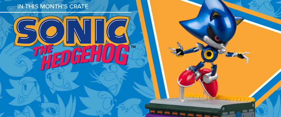 Metal Sonic Figurine Revealed For September Loot Crate
