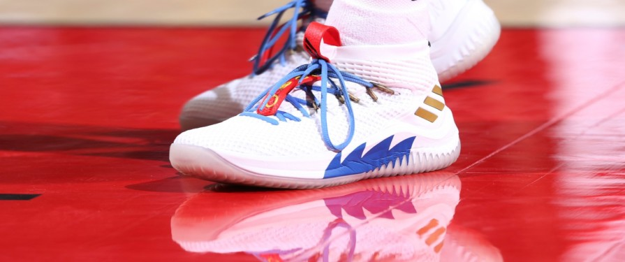 Check Out This NBA Player's Custom Sonic Sneakers