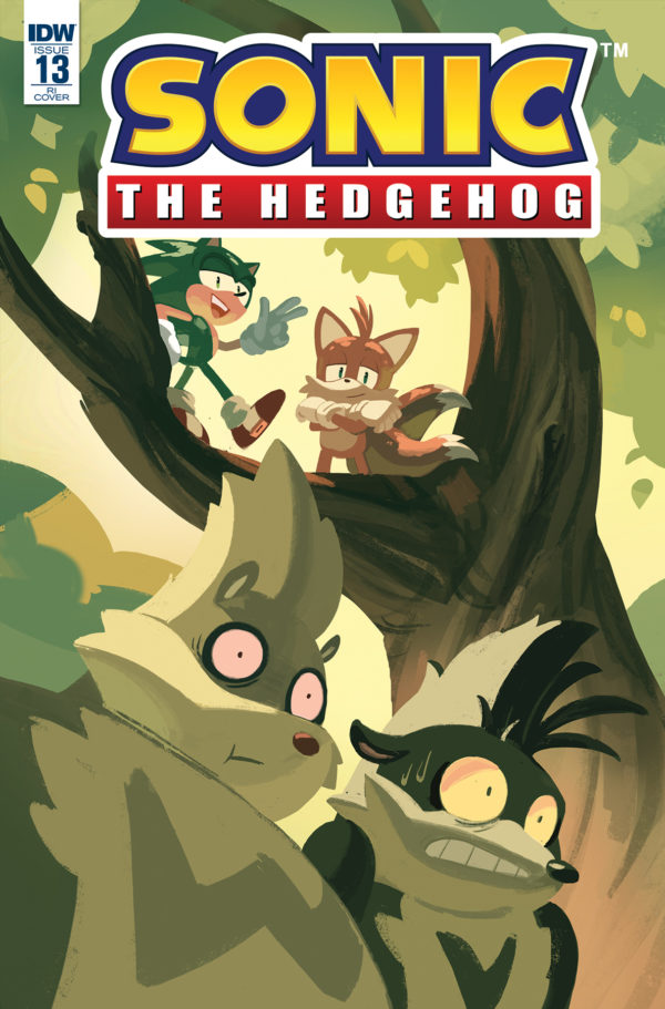 Comic Previews Solicitations For Idw Sonic The Hedgehog 13 And Idw Sonic The Hedgehog Volume 2 Revealed The Sonic Stadium