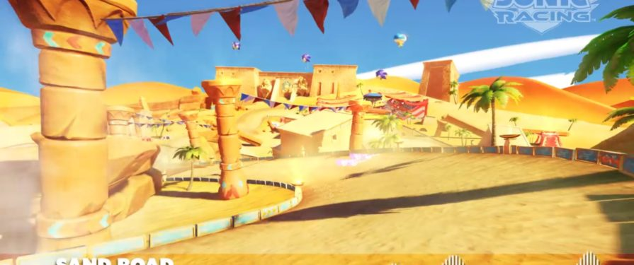 Sonic Adventure's Sand Hill Returns in Team Sonic Racing