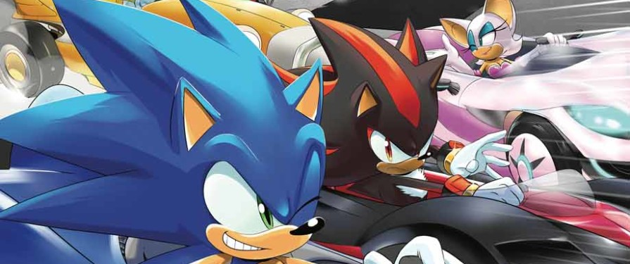 Comic Preview: IDW Team Sonic Racing One-Shot