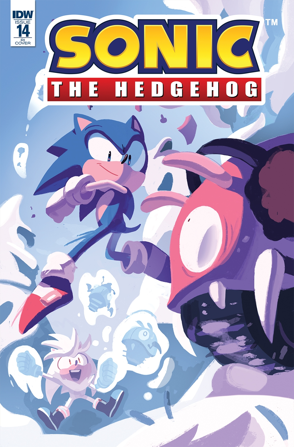 Comic Previews Solicitation For Idw Sonic The Hedgehog 14 The Sonic Stadium