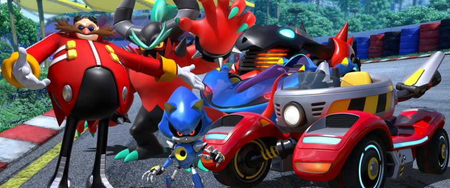 Team Eggman Announced For Team Sonic Racing