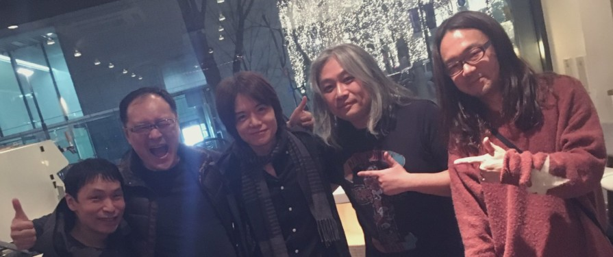 Jun Senoue and Tomoya Ohtani Hanging Out With Masahiro Sakurai Might Be The Coolest Thing You See This Week