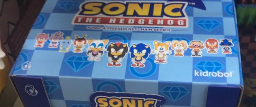 Kidrobot debuting new Sonic blindbox keychains this summer