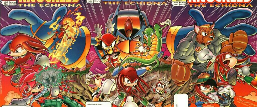 The Knuckles comics were weird…and I loved them