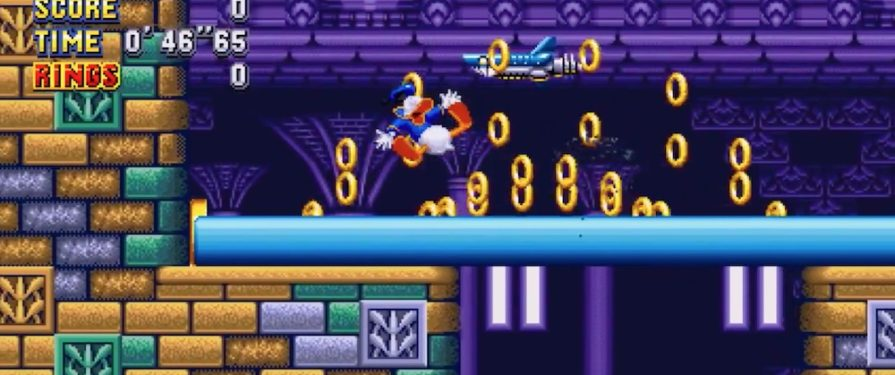 Watch Donald Duck Go Quackers in This Hilarious Sonic Mania PC Mod
