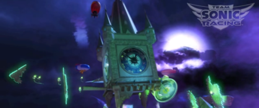 Haunted Castle race track, music revealed for Team Sonic Racing