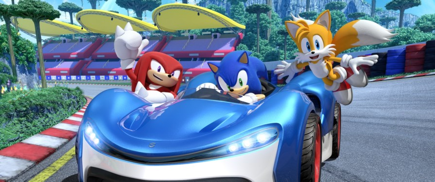 Team Sonic Racing Speeds to #1 in the UK Games Chart