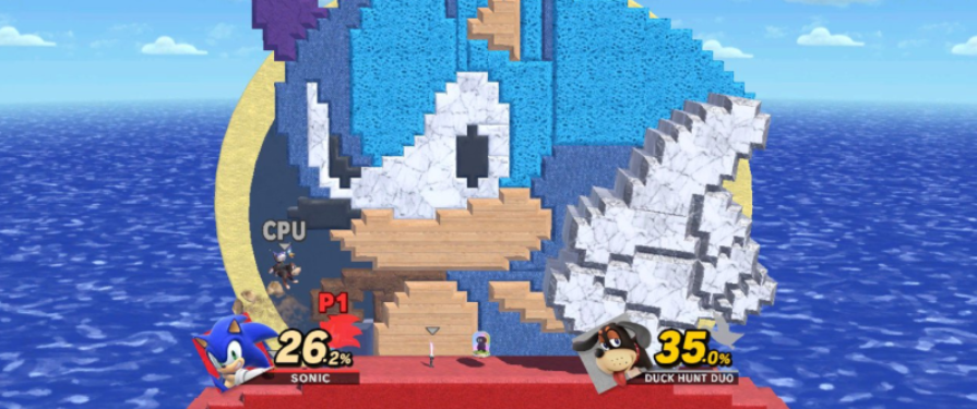 Check Out These Fan-Made Sonic Stages In Super Smash Brothers Ultimate