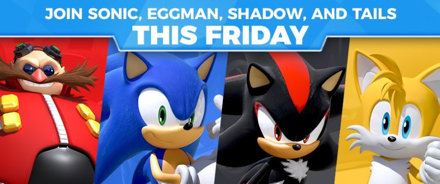 Sonic Twitter Takeover This Friday To Feature Sonic, Tails, Shadow, & Eggman