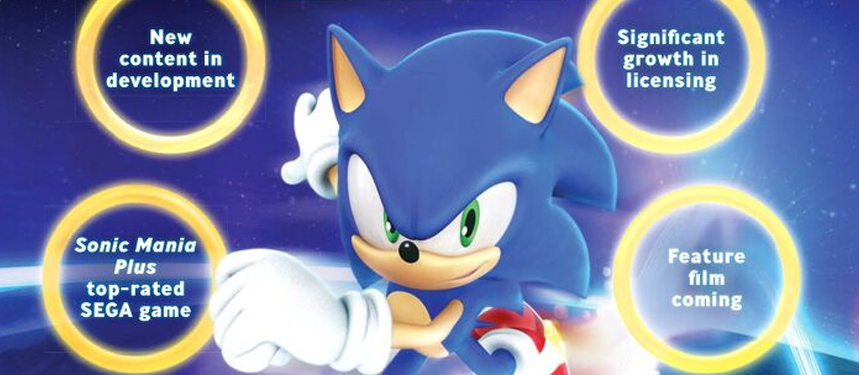 SEGA Promises 'New Sonic Content' in License Global Magazine