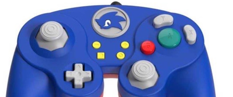 Sonic-styled Switch controller coming soon from PDP