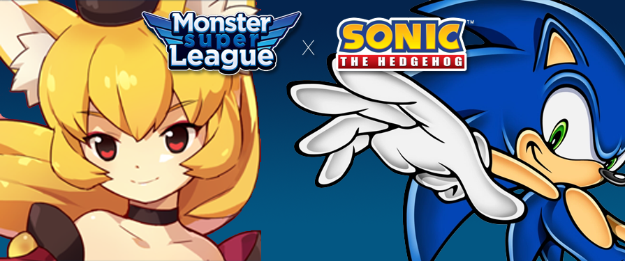 Become Sonic's Master During Monster Super League's Collaboration Festival