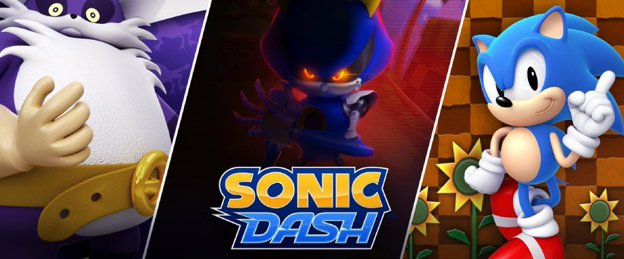 sonic dash featuring metal sonic!