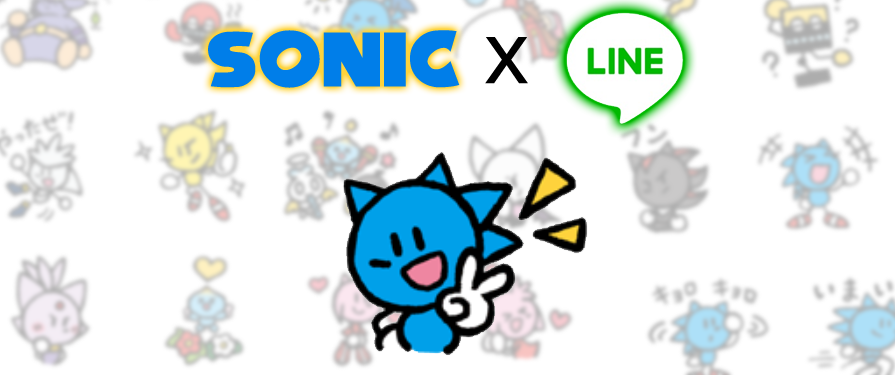 Unreasonably Cute Sonic Stickers now Available on LINE!
