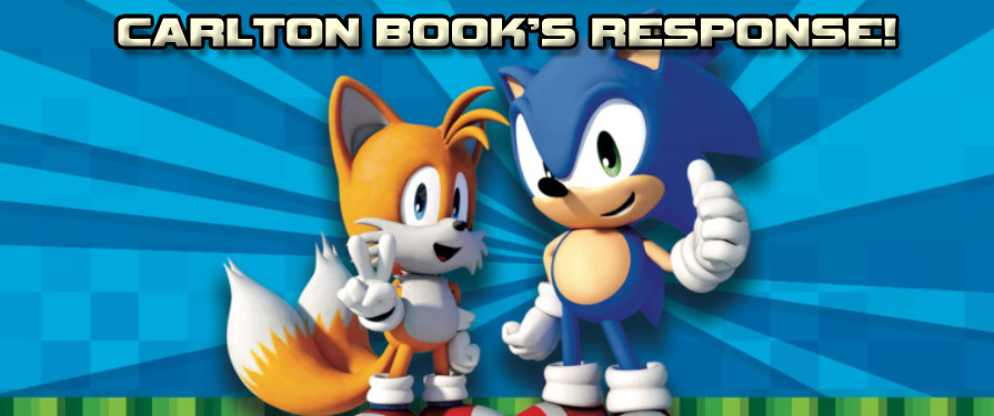 "Sonic Fact Book with Stolen Content ""Not Final Product"""